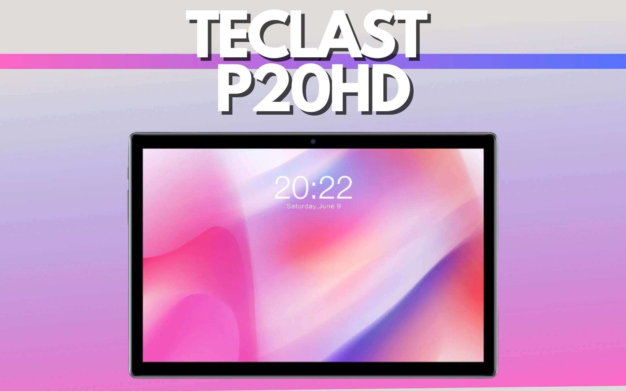 teclast p20HD
