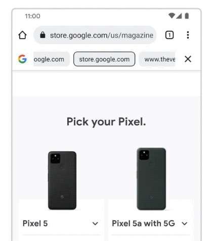 Chrome Beta - Ricerca continua