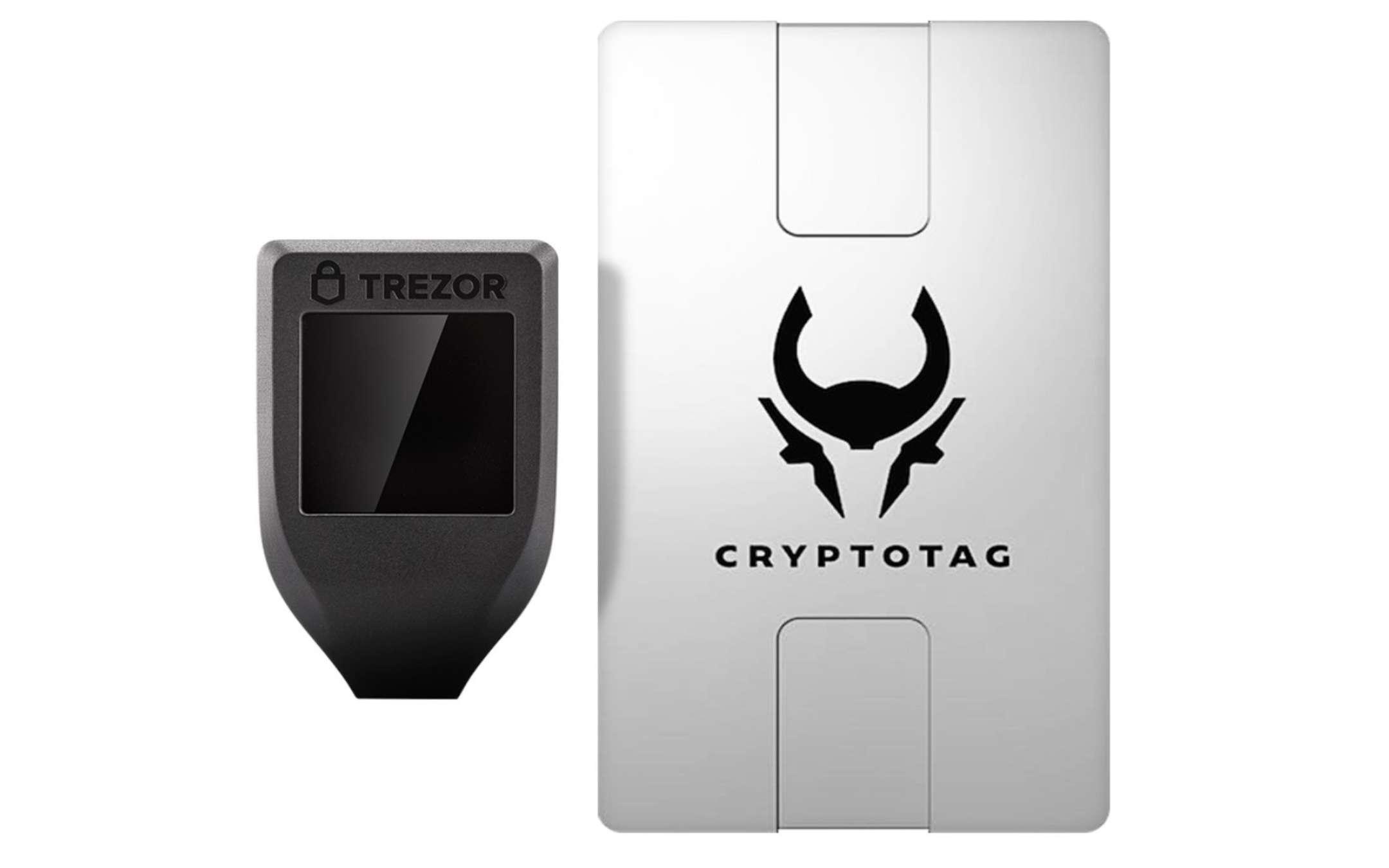 Bundle Trezor Model T Zeus Cryptotag - 2