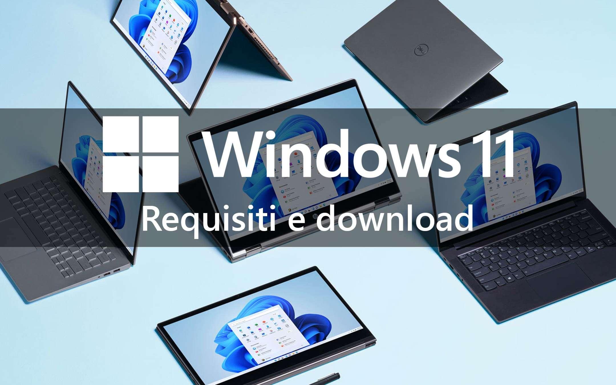 Windows 11: ecco i PC che possono averlo …