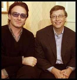 Gates e Bono