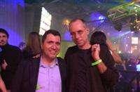 Maurizio Zazzaro insieme al noto regista Gabriele Salvatores