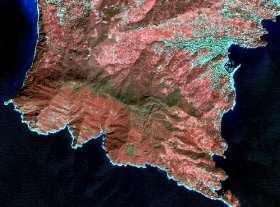 Un'immagine dal satellite