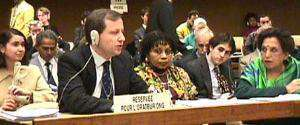 Pietrosanti alla Commissione ONU sui diritti umani