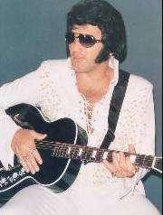 Foto di Elvis quand'era tutto intero