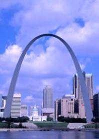 Una veduta di St. Louis