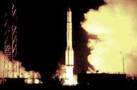 Il lancio di un satellite