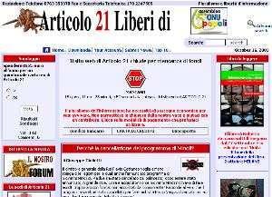 La Home Page di Articolo21