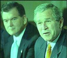 George W. Bush e Tom Ridge