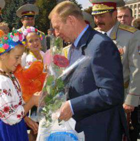 Il presidente Kuchma