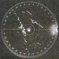 Visore di un radar del 1944