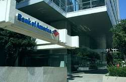 la sede di Bank of America