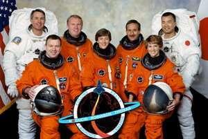 L'equipaggio che voler� con il Discovery