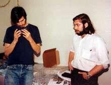 Jobs e Wozniack nel 1975