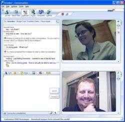 MSN Messenger 7.0 - Videochiamata