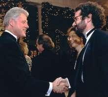 Gershenfeld con Bill Clinton