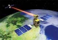 Una ricostruzione ESA del collegamento laser