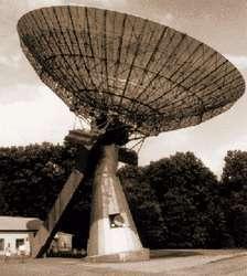 Il radiotelescopio già esistente
