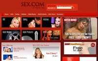 La home page di sex.com