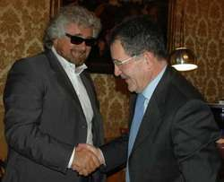 Grillo e Prodi
