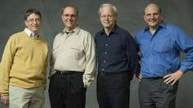 Il vertice di BigM: Gates, Ozzie, Mundie e Ballmer