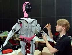 Uno dei robot partecipanti