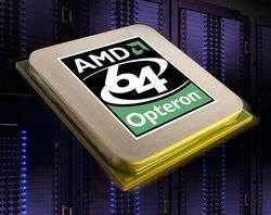Opteron dual-core