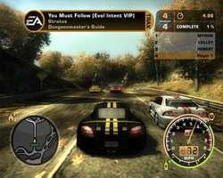 Un'immagine del celebre game di corse