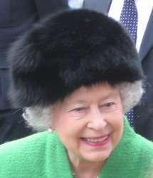 la regina britannica