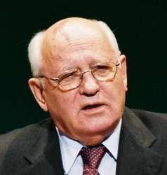 L'ex presidente sovietico