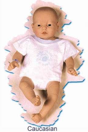 Il baby replicante di tipo caucasico