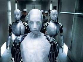 Il robot di un celebre film tratto dai racconti di Asimov