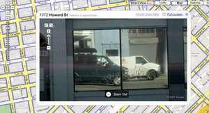 Avvistato il furgone di Google Maps