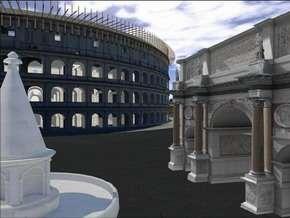 Il Colosseo 3D