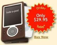 La cover Zune per l'iPod