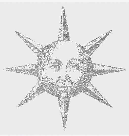 La nanostampa del sole di Fludd