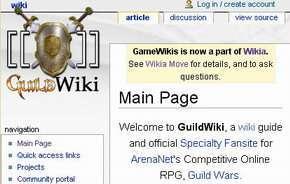 La page di GW