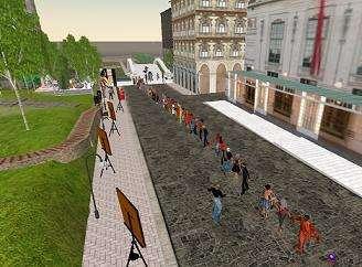 Manifestazioni su Second Life