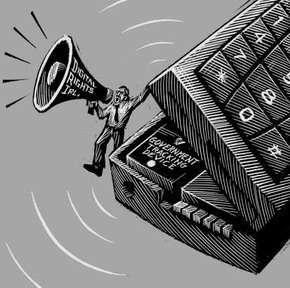 Il megafono telefonico