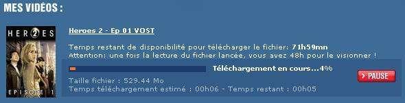 Il servizio dell'emittente francese