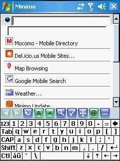 Mozilla Minimo
