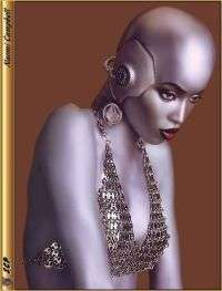 Naomi Campbell in versione Robot