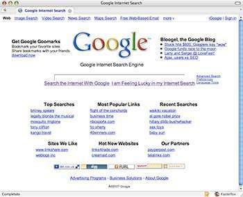 Google dopo la cura