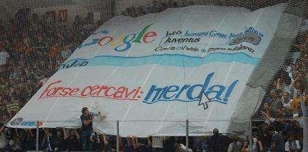 Google sugli spalti