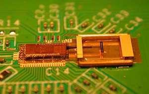 Uno dei primi prototipi di chip mmWave