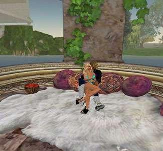 Coccole su Second Life