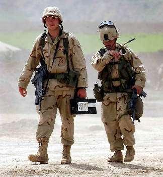 Due militari USA