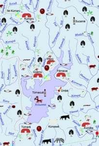 Una delle mappe tematiche