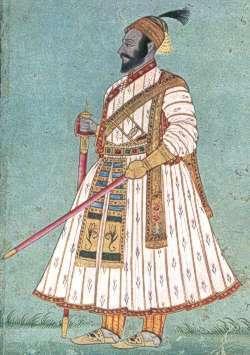Il personaggio storico in una celebre raffigurazione