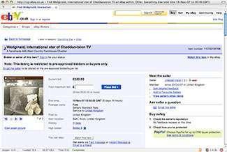 Wedginald su eBay